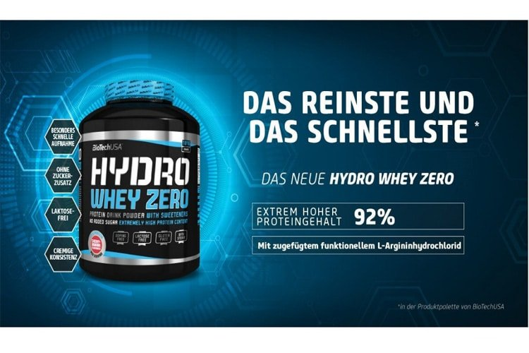 Biotech USA Hydro Whey Zero avis