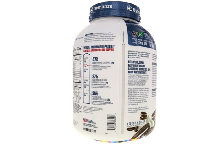 Dymatize - Iso 100 Hydrolyzed test