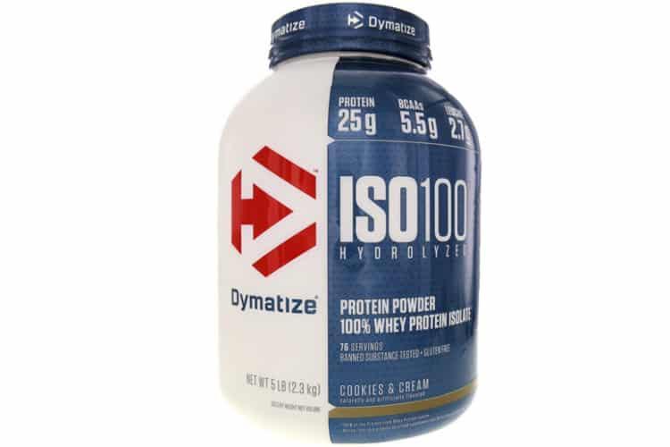 Dymatize - Iso 100 Hydrolyzed whey protéine