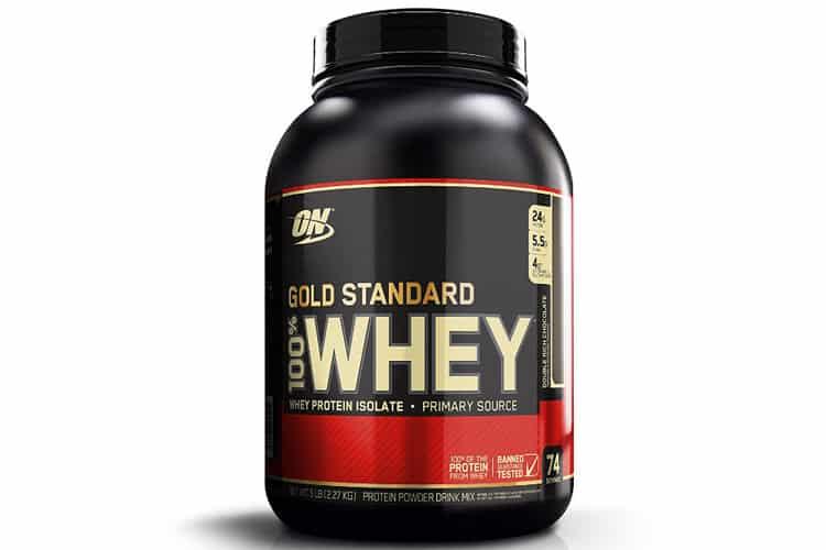 Whey Gold Standard Optimum Nutrition : N°1 des proteines !