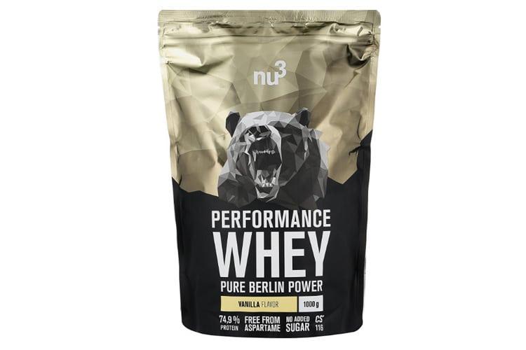nu3 – Whey Protéines Performance : quelles sont les qualités de cette whey protéine ?
