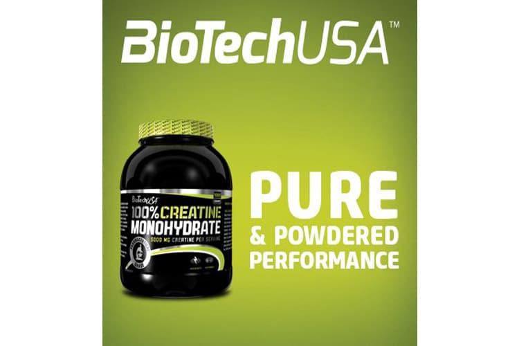 Biotech USA 13005030000 100% Créatine Monohydrate test