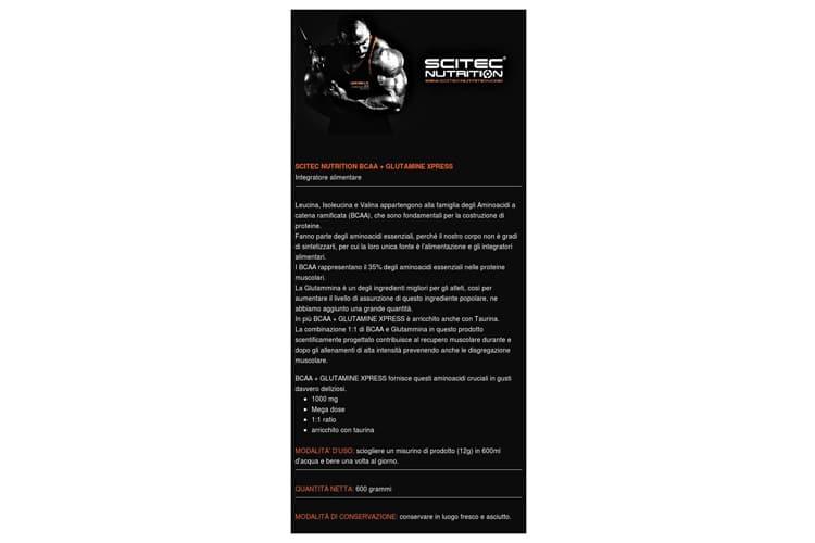 Scitec Nutrition BCAA+Glutamine Xpress avis