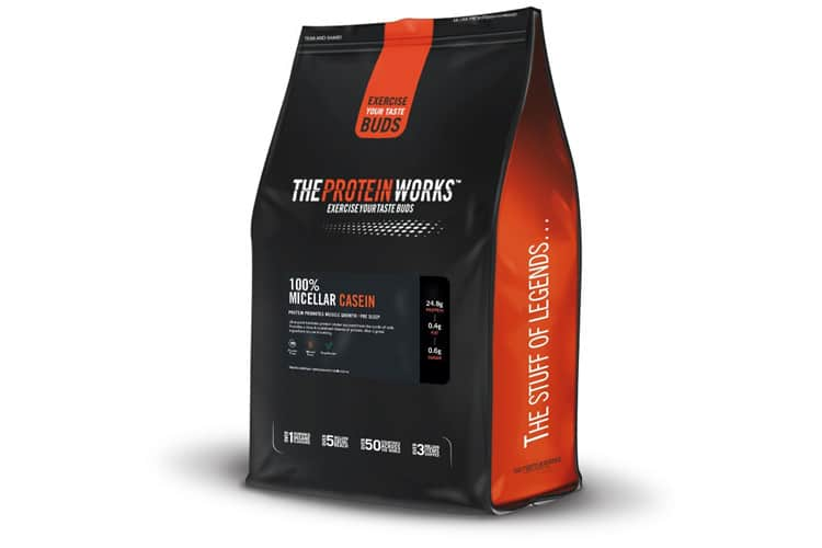 The Protein Works - 100% Caséine Micellaire test