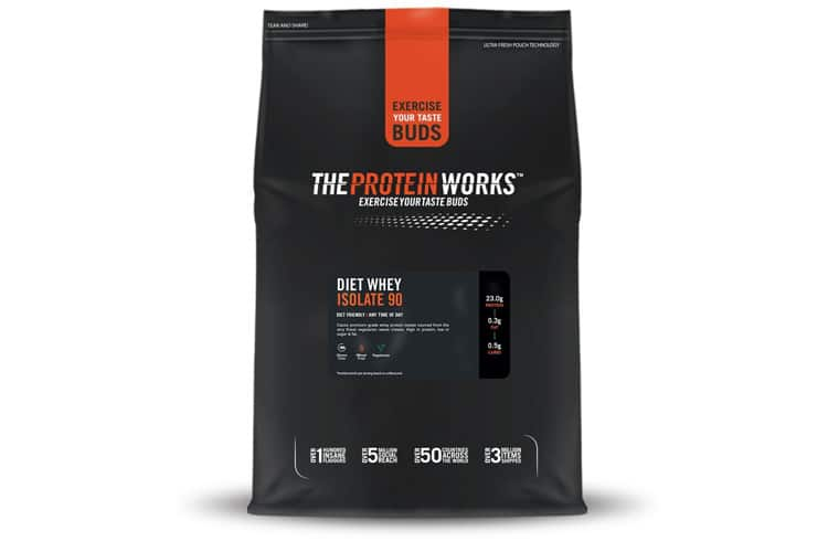 The Protein Works - Diet Whey Isolate 90 avis