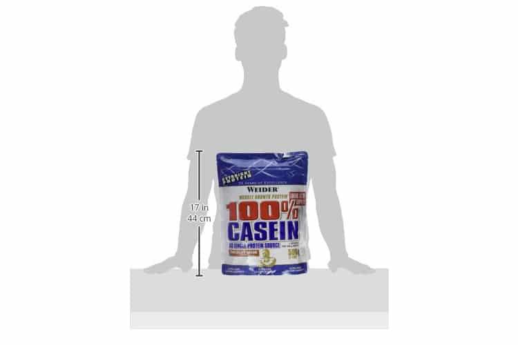 WEIDER 100 % Casein test