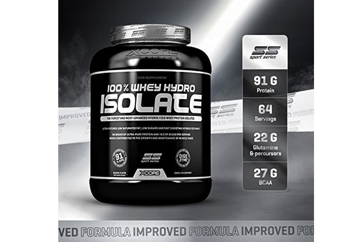 Xcore 100%Whey Hydro Isolate SS test
