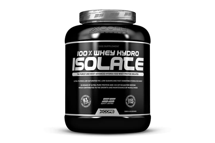 La Xcore 100%Whey Hydro Isolate SS est-elle adaptée à votre programme de musculation ?