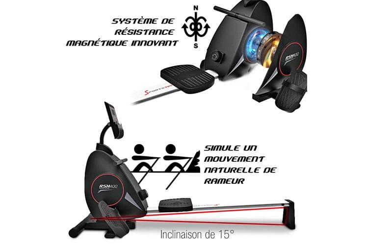Sportstech RSX400 test