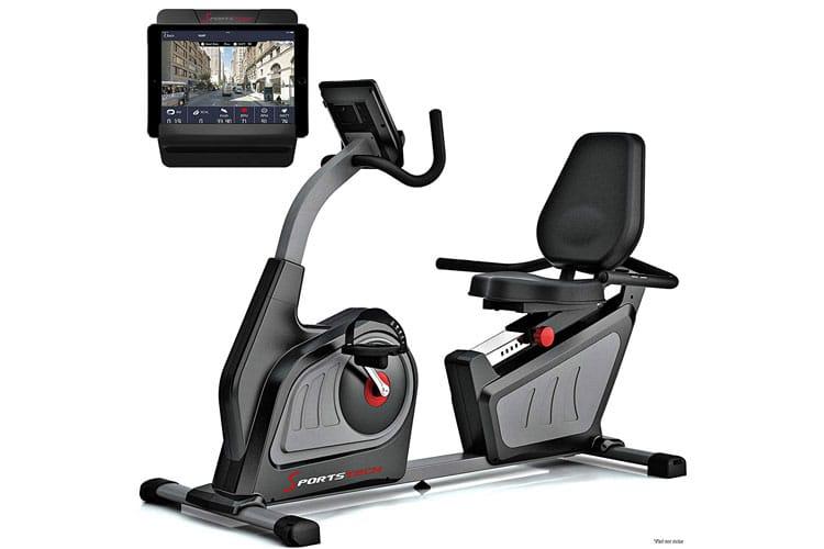 Sportstech ES600 vélo semi-allongé