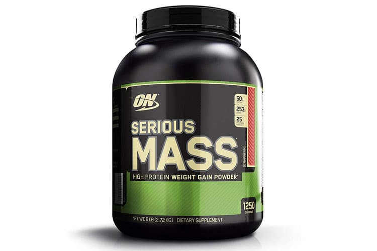 Optimum Nutrition Serious Mass whey gainer