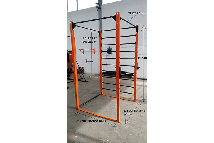 BodyStrongFitness Cage test