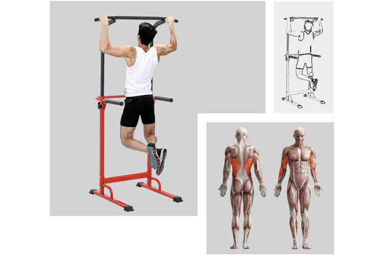 Pullup Fitness Station musculation avis