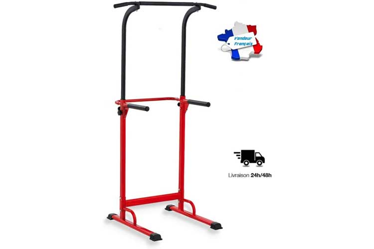 Pullup Fitness Station musculation chaise romaine