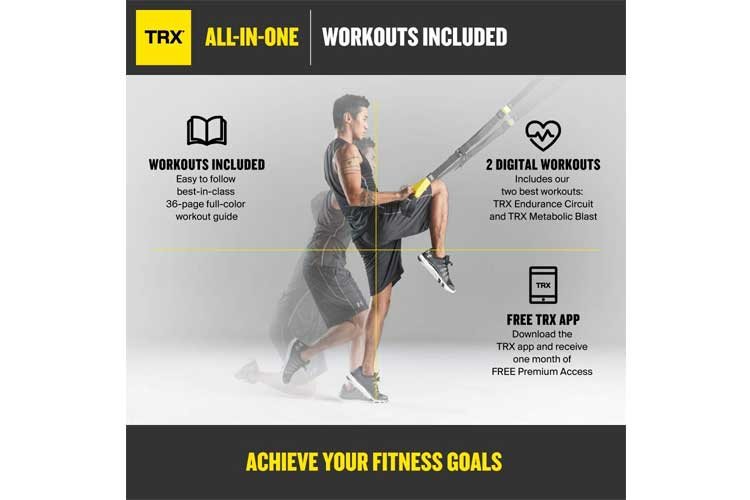 TRX Suspension Training system test