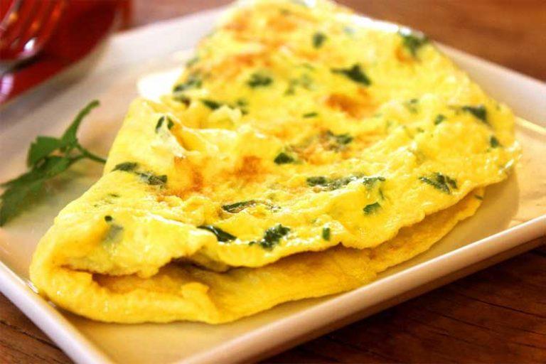 combien de protéine dans les omelettes
